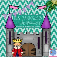 FRENCH {Knights and Castle} Math and literacy. by Madame Emilie French resources Dragons, Château Fort, French Resources, Renaissance Era, In Ancient Times, Math Class, Geometric Shapes, Social Studies, Literacy