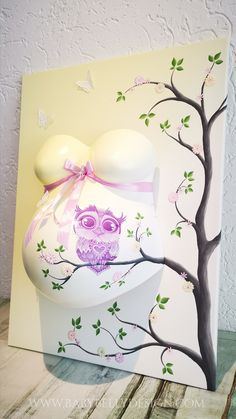 Belly Cast Decorating, Belly Casting, Baby Room Decor, Sculpting, Children, Kids, Belly Art, Baby Shower, Canvas