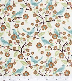 Keepsake Calico Fabric- Birds On Branches : keepsake calico fabric : quilting fabric & kits : fabric :  Shop | Joann.com