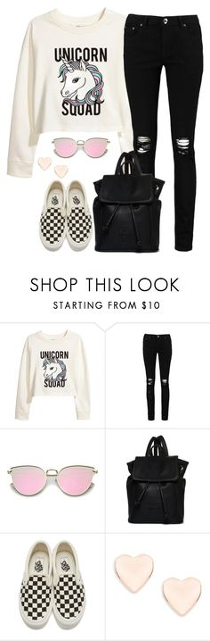 """Unicorn Squad Get The Look"" by stephanieroy ❤ liked on Polyvore featuring H&M, Boohoo, Superdry, Vans and Ted Baker"