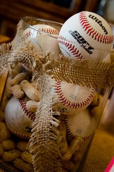 trendy baby shower themes for boys sports baseball centerpiece Vintage Baseball Party, Baseball Table, Baseball Field, Baseball Party Centerpieces, Banquet Centerpieces, Baseball Decorations, Softball Party, Sports Party, Sports Wedding