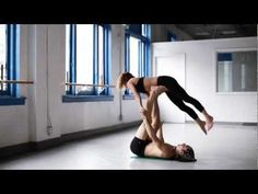 acroyoga with chelsey korus and matt giordano - YouTube