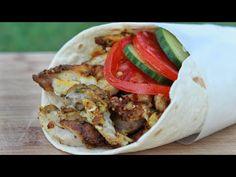 Gyro Meat, Chicken Gyros, Eastern Cuisine, Shawarma, Rotisserie Chicken, Mediterranean Recipes, Red Peppers, Chicken Recipes, Roast