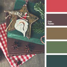 *Olga Kravtsova, brown, brown-green colour, colour matching, colour of cinnamon, colour of spruce, colour solution, colours for table decor