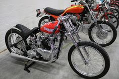 OldMotoDude: 1951 Triumph 6T Drag Bike sold for $25,000 at the ...