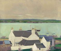 thunderstruck9:  Francis Campbell Boileau Cadell (Scottish, 1883-1937), Mull from Iona. Oil on canvas, 25 x 30 in.