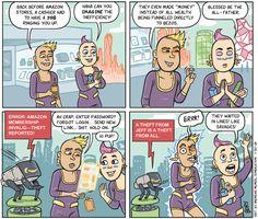 Cartoon: It's Amazon's future, we're just living in it