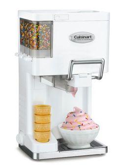 Machine à crème glacée Cuisinart | Idée Cadeau Québec http://www.ideecadeauquebec.com/machine-a-creme-glacee-cuisinart/