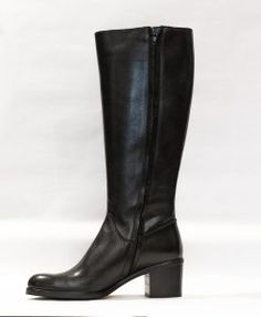 cizme-negre-7125-2 Fall Shoes, Heeled Boots, Fall Winter, Heels, Collection, Women, Fashion, High Heel Boots, Heel