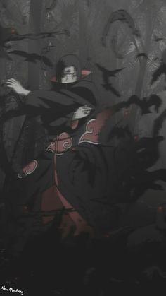 Itachi Uchiha, Naruto Shippuden Sasuke, Anime Naruto, Naruto Fan Art, Wallpaper Naruto Shippuden, Naruto Wallpaper, Naruto And Sasuke, Gaara, Boruto