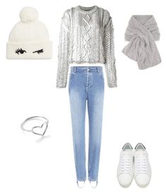"""""""Untitled #343"""" by i-would-prefer-not-to on Polyvore featuring Filles à papa, Balenciaga, Jordan Askill, Yves Saint Laurent, Loro Piana and Kate Spade"""