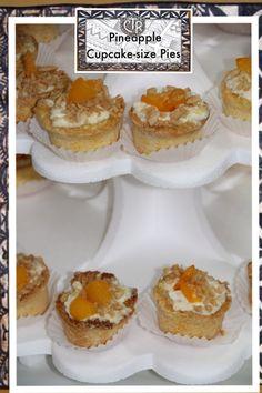 Tongan Pineapple pie in bite size (Pai Faina)