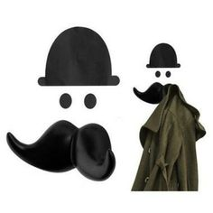 Wandkapstok 'Mr Butler'