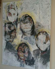Art Akryl Painting  Lone Sæther Painting, Art, Art Background, Painting Art, Kunst, Paintings, Gcse Art