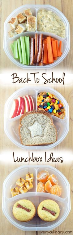 Get your kid excited to eat with these fun and delicious back to school lunchbox ideas! Easy to eat nutritious finger food for lunch! Lunch Snacks, Healthy Snacks, Healthy Recipes, Kid Lunches, School Lunches, Kid Snacks, Detox Recipes, Kids Lunch For School, Lunch To Go