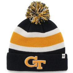 * '47 Brand Georgia Tech Yellow Jackets Navy Blue Breakaway Knit Beanie, $19.95 https://twitter.com/AtlantaSports4u/status/769302218029862913