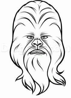 how to draw chewbacca - Google Search