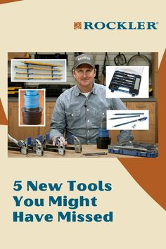 In this Rockler demonstration we'll show you five new tools that you might have missed. Watch the demo here! #CreateWithConfidence #NewTools #RocklerDemo #RocklerInnovations #Chisels Rockler Woodworking, Learn Woodworking, Woodworking Projects Diy, Woodworking Videos, Lumber Rack, Lumber Storage, Long Pipe, Chisel Set, Workshop Organization