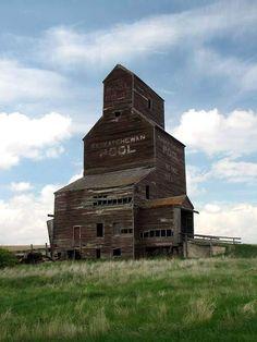 The Grain Elevators of Saskatchewan, Canada