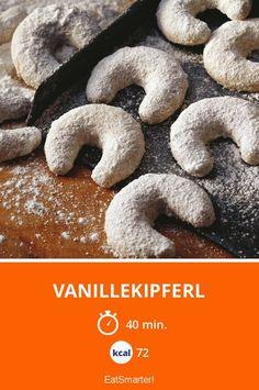 Vanillekipferl - smarter - Kalorien: 72 kcal - Zeit: 40 Min.   eatsmarter.de