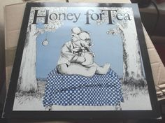 VARIOUS HONEY FOR TEA 1982 WIMP RECORDS SELECTION OF CAMBRIDGE BANDS  NEAR MINT