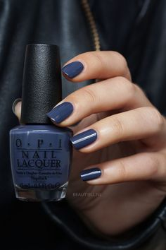 OPI Less is Norse excellent winter nail color #beautynails #nailpolishwinter