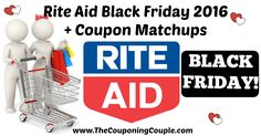 WOOHOO!! Who is ready for Black Friday deals?! Here is the Rite Aid Black Friday 2016 Ad with Coupon Matchups!  Click the link below to get all of the details ► http://www.thecouponingcouple.com/rite-aid-black-friday-ad-2016-with-coupon-matchups/ #Coupons #Couponing #CouponCommunity  Visit us at http://www.thecouponingcouple.com for more great posts!