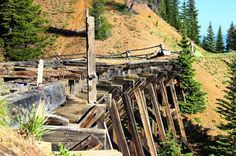 Have you hiked or biked near the old #train #trestle on Corona Pass/ #Moffat Road? Head up the #ContinentalDivide this #Summer and check out this #scenic piece of Winter Park's #history! #playwinterpark #winterparklife #GrandCounty #GoGrand #hike #bike