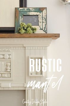 Rustic style and decor embraces the imperfections and makes it perfect for easy home decor which is what Country Design Style does. You will enjoy seeing this collection of awesome ideas. Decor, Country Design, Rustic Decor, Barn Wood, House Styles, Home Decor, Diy Boards, Wood Mantels, Distressed Painting
