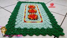 Passo a Passo Tapete Rafaella - Pink Artes Croche by Rosana Recchia