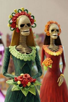 Day of the Dead brides