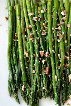 "You want this side ""ace"" in your back pocket.   15 minute restaurant worthy Balsamic Brown Butter Roasted Asparagus is quick and easy but tastes gourmet enough for any company or special occasion (like Mother's Day!). I love asparagus.  They are just so happy.  Tall, and gangly  but bursting with bright green ""welcome spring"" confidence.  They are perfectly crisp... Read More »"