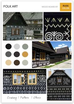 Located in the Žilina district of Slovakia, Čičmany is the first folk architecture reserve in the world. With timbered houses decorated wit. The Good Place, Folk, 1, Houses, Culture, Architecture, Nice, Places, Interior