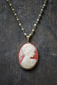 Have always wanted a cameo necklace