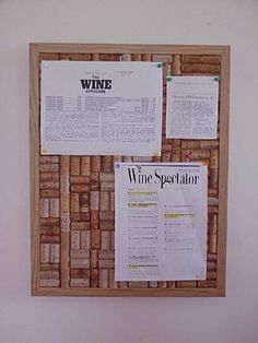 DIY cork board (but in a fancier frame) for guests to pin messages to the bride and groom