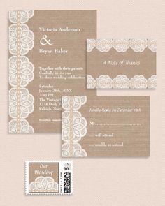 Marlene Pattern Designs Blog: New Vintage Invitation Set