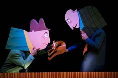 Flat Puppets