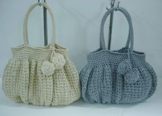 Crochet Bag Patterns - Free Patterns for Women's Crocheted Bags ❥Teresa Restegui http://www.pinterest.com/teretegui/ ❥