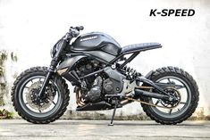 Read up on a number of my well liked builds - modified scrambler motorcycles like Modern Cafe Racer, Custom Cafe Racer, Scrambler Motorcycle, Moto Bike, Custom Street Bikes, Custom Bikes, Motorcycle Design, Bike Design, Kawasaki Cafe Racer