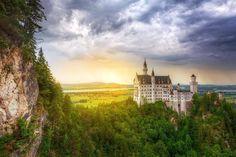 "Luoghi Dal Mondo su Twitter: ""Castello di Neuschwanstein, Alpi Bavaresi…"