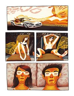 Comics by Nata Metlukh, via Behance