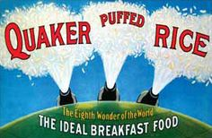 In 1902, Alexander Anderson of Red Wing, MN discovered the processes to puff wheat and rice. Puffed rice is a popular cereal to this day. Puffed Wheat, Puffed Rice, Red Wing Minnesota, American Breakfast, Historical Sites, Ancestry, Good People, Roots, Cereal