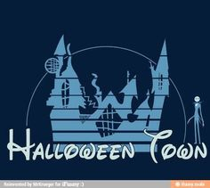 Halloween Town, nightmare before Christmas