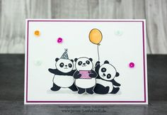Jana Bastelwelt:  Stampin' Up! Party Pandas