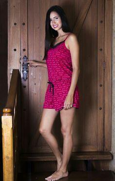 Si te gusta dormir fresca y cómoda..Esta pijama es ideal para ti #hermosa #romántica y #sexy #estiloNexka
