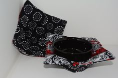 Reversible Microwave Bowl Cozy, Set of Two Large - pinned by pin4etsy.com