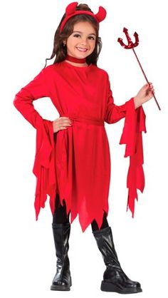 Halloween Costumes for Girls---Darling Devil Costume Girl