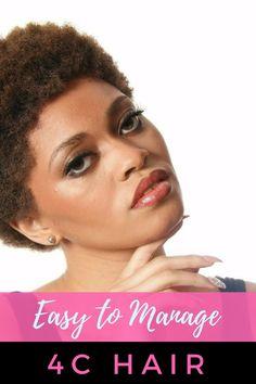 How to Make Managing 4C Hair Easier | Black Naps