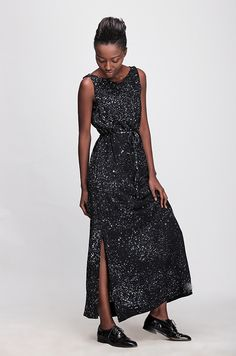 Guise Maxi Dress in Galaxy