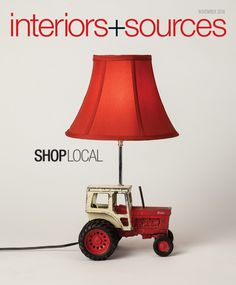 The latest in interiors and sources for commercial interior design projects. Theme: Shop Local.